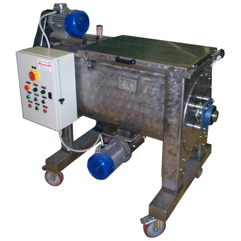 Horizontal mixer - MOR Series