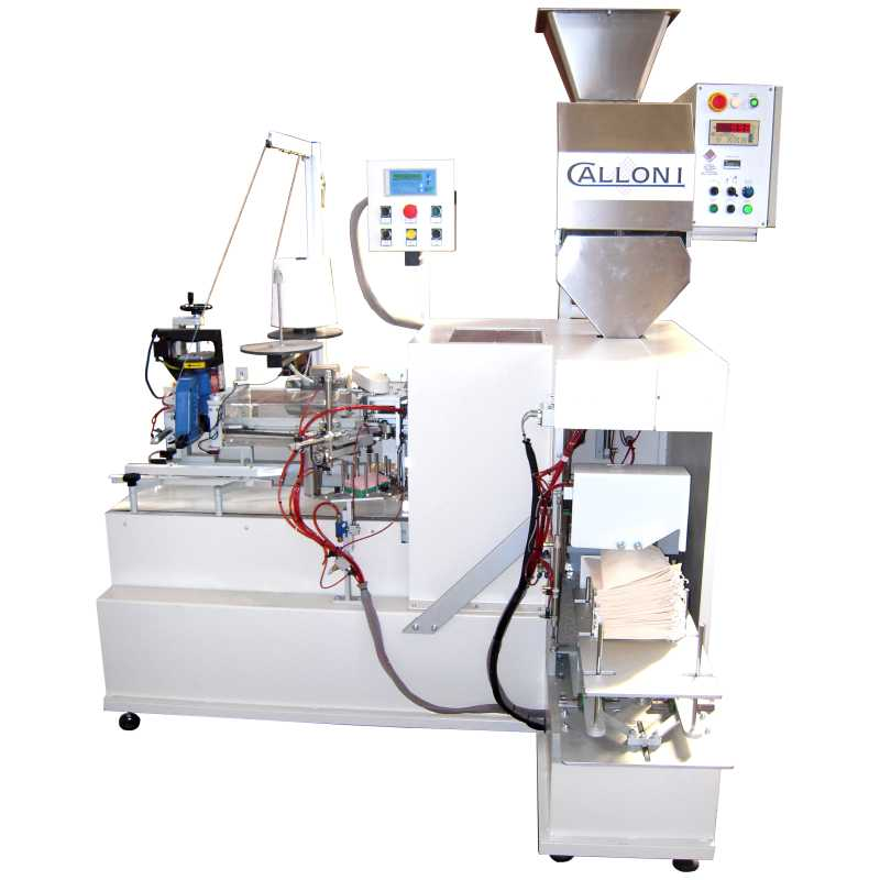 Automatic bagging machine for fabric bags - SIAS model