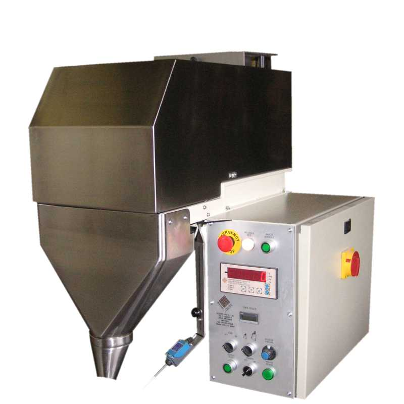 Semi-automatic dispenser for dry and floured foods - SVNE model